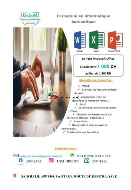 Formation professionnelle - 1