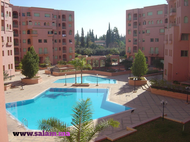 Appartement Quartier de l'HIVERNAGE MARRAKECH 95M2 - 1