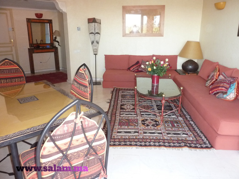 Appartement Quartier de l'HIVERNAGE MARRAKECH 95M2 - 2