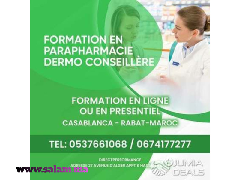 formation parapharmacie dermo conseillère - 1